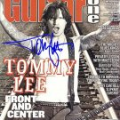 LEETOMMYcover Autographed Preprint Signed Photo