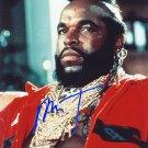 MR.T Autographed Preprint Signed Photo