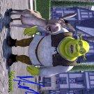MYERSMIKEshrek Autographed Preprint Signed Photo