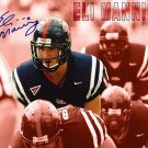 ManningEli Autographed Preprint Signed Photo