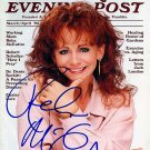 McentireRebaMag Autographed Preprint Signed Photo