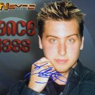 NSYNCLanceBass Autographed Preprint Signed Photo