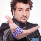 NSYNCjoey Autographed Preprint Signed Photo