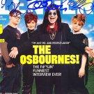 OSBOURNESc Autographed Preprint Signed Photo