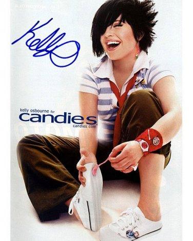 OsbourneKellyCandies Autographed Preprint Signed Photo