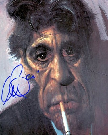 PACINOALkrueger Autographed Preprint Signed Photo