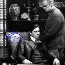 PacinoAlgodfather Autographed Preprint Signed Photo