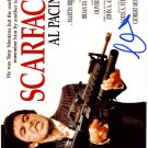 PacinoAlscarface Autographed Preprint Signed Photo