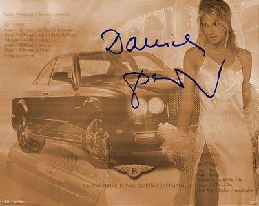 Pestova_And_Bentley_Exotics Autographed Preprint Signed Photo