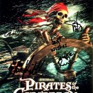 PiratesPosterskull Autographed Preprint Signed Photo