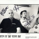 QueensStoneAge Autographed Preprint Signed Photo
