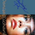 RICHARDSdenise_richards Autographed Preprint Signed Photo
