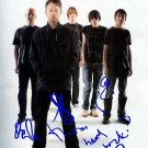 Radiohead Autographed Preprint Signed Photo