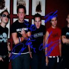 SimplePlanFULLBANDKK Autographed Preprint Signed Photo