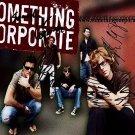 SomethingCorporateAndrew Autographed Preprint Signed Photo
