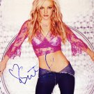 Spears Autographed Preprint Signed Photo
