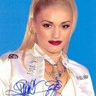 StefaniGwen Autographed Preprint Signed Photo