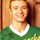 TimberlakeJustinA Autographed Preprint Signed Photo