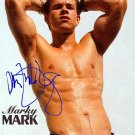 WahlbergMarky Autographed Preprint Signed Photo