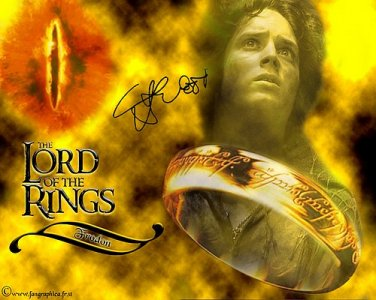 Woodthelordoftherings Autographed Preprint Signed Photo