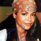 aaliyaha Autographed Preprint Signed Photo