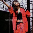 aaliyah_onstage Autographed Preprint Signed Photo