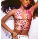 aaliyahtiger Autographed Preprint Signed Photo