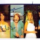 abba Autographed Preprint Signed Photo