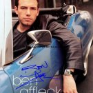 affleckCAR Autographed Preprint Signed Photo