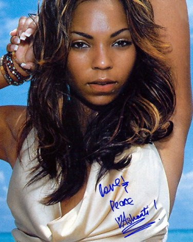 ashantibeach Autographed Preprint Signed Photo