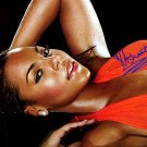 ashantiredbed Autographed Preprint Signed Photo