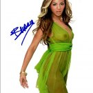 beyonce_nude Autographed Preprint Signed Photo