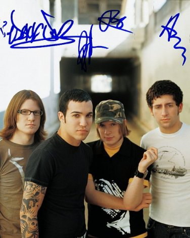 falloutboy Autographed Preprint Signed Photo