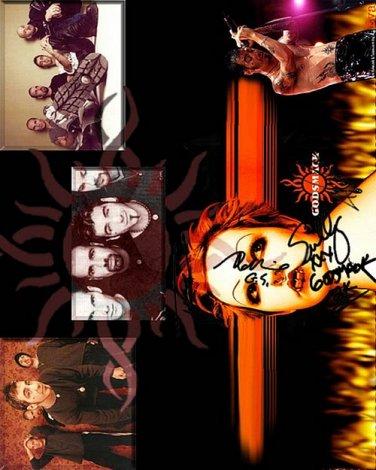 godsmack_wp Autographed Preprint Signed Photo