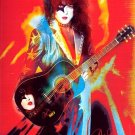 kisspaulaccousticairbrush Autographed Preprint Signed Photo