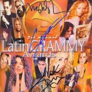 latingrammys Autographed Preprint Signed Photo
