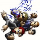linkin Autographed Preprint Signed Photo