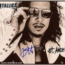 metallicaKirkST Autographed Preprint Signed Photo