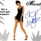 mooremandyNOGIRL Autographed Preprint Signed Photo