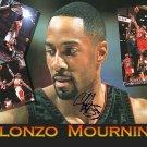 mourningalonzocollage Autographed Preprint Signed Photo
