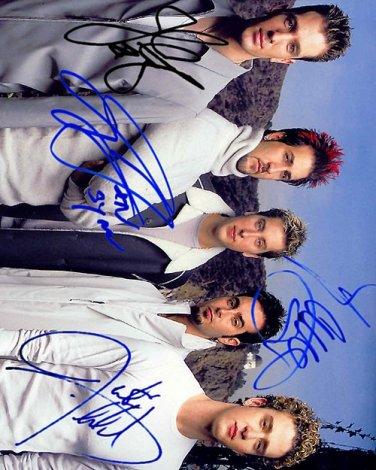 nync Autographed Preprint Signed Photo