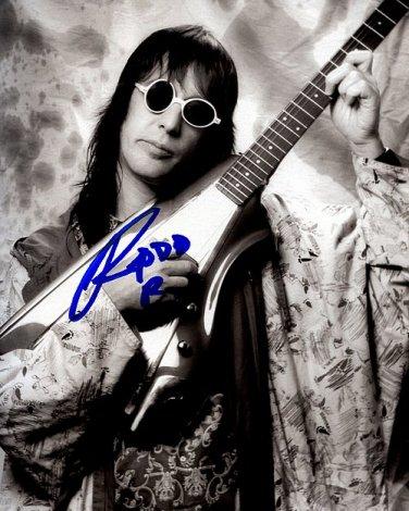 rudgren Autographed Preprint Signed Photo