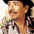 santanacarlosSExy Autographed Preprint Signed Photo