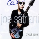satriani_ Autographed Preprint Signed Photo