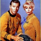 shatner_whitney__hs Autographed Preprint Signed Photo
