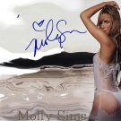 simsmolly_sims_ Autographed Preprint Signed Photo