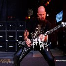 slayer_kerryKing Autographed Preprint Signed Photo