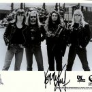 slayerbw Autographed Preprint Signed Photo