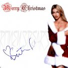 spears_christmas Autographed Preprint Signed Photo