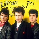 the_cure Autographed Preprint Signed Photo